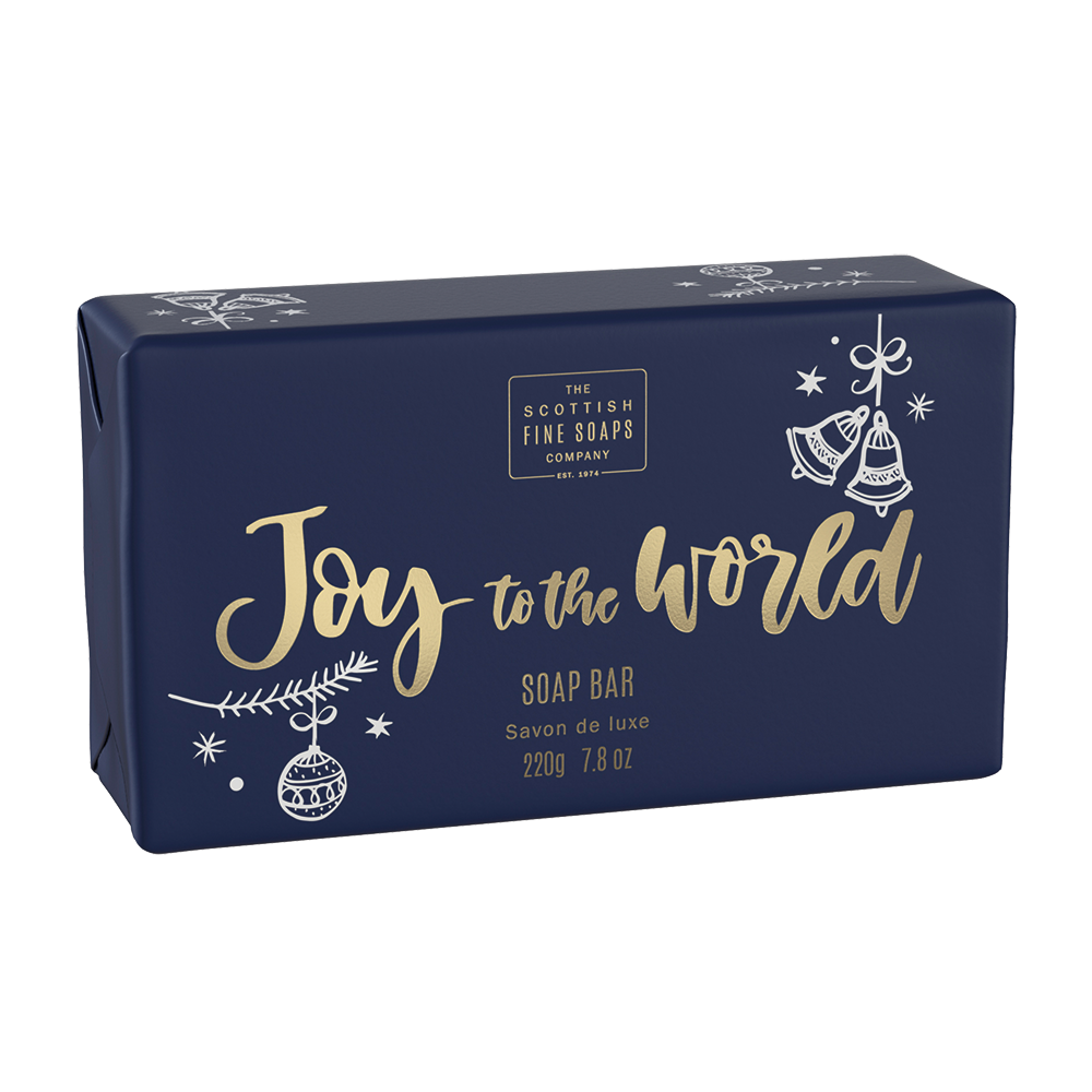 Joy To The World Luxury Wrapped Soap