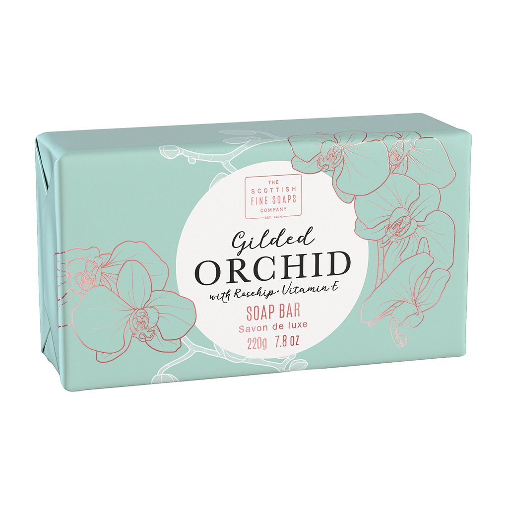 Gilded Orchid Luxury Wrapped Soap