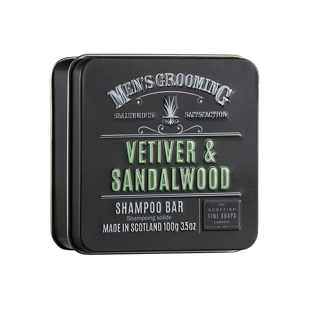 Vetiver & Sandalwood Shampoo Bar