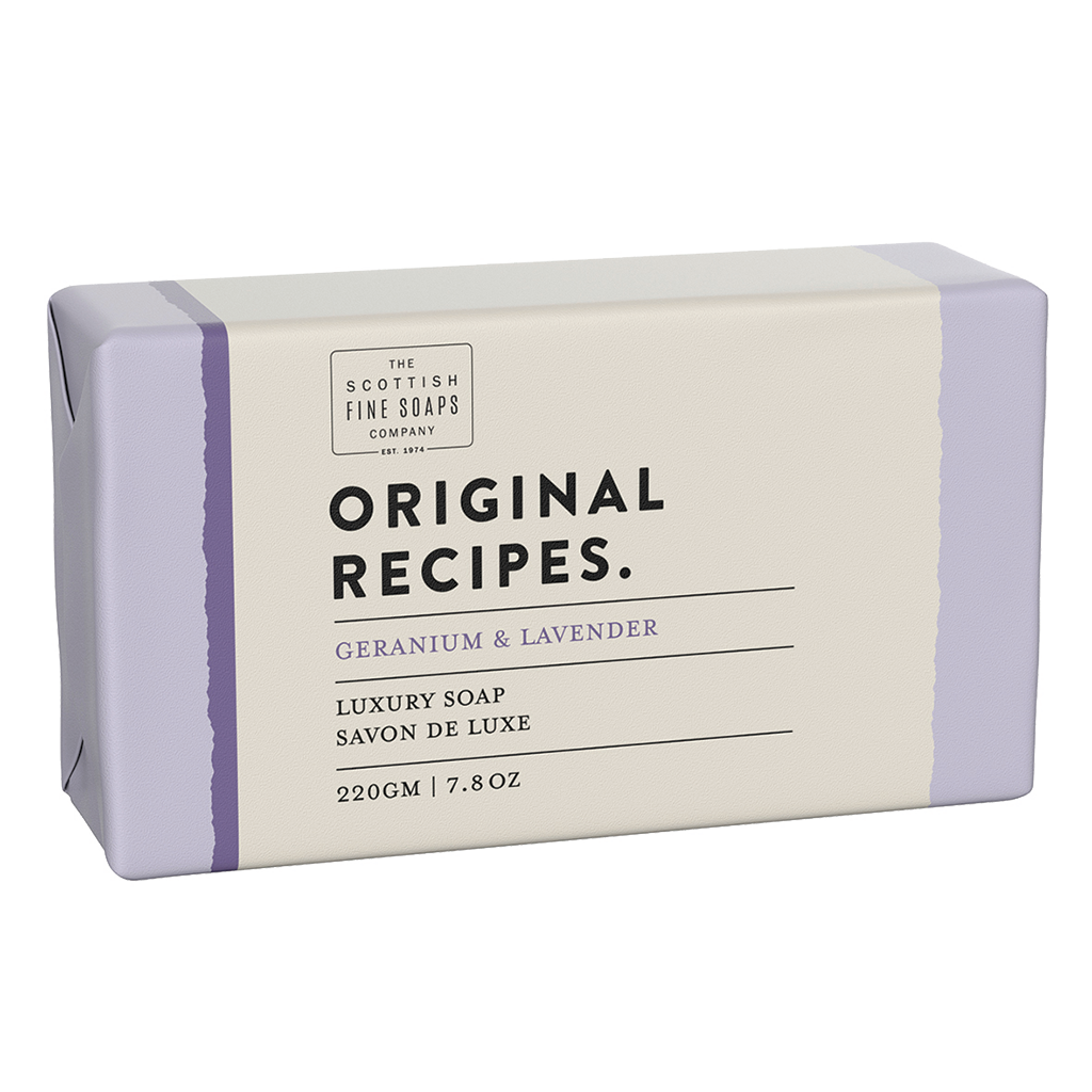 Geranium & Lavender Luxury Soap