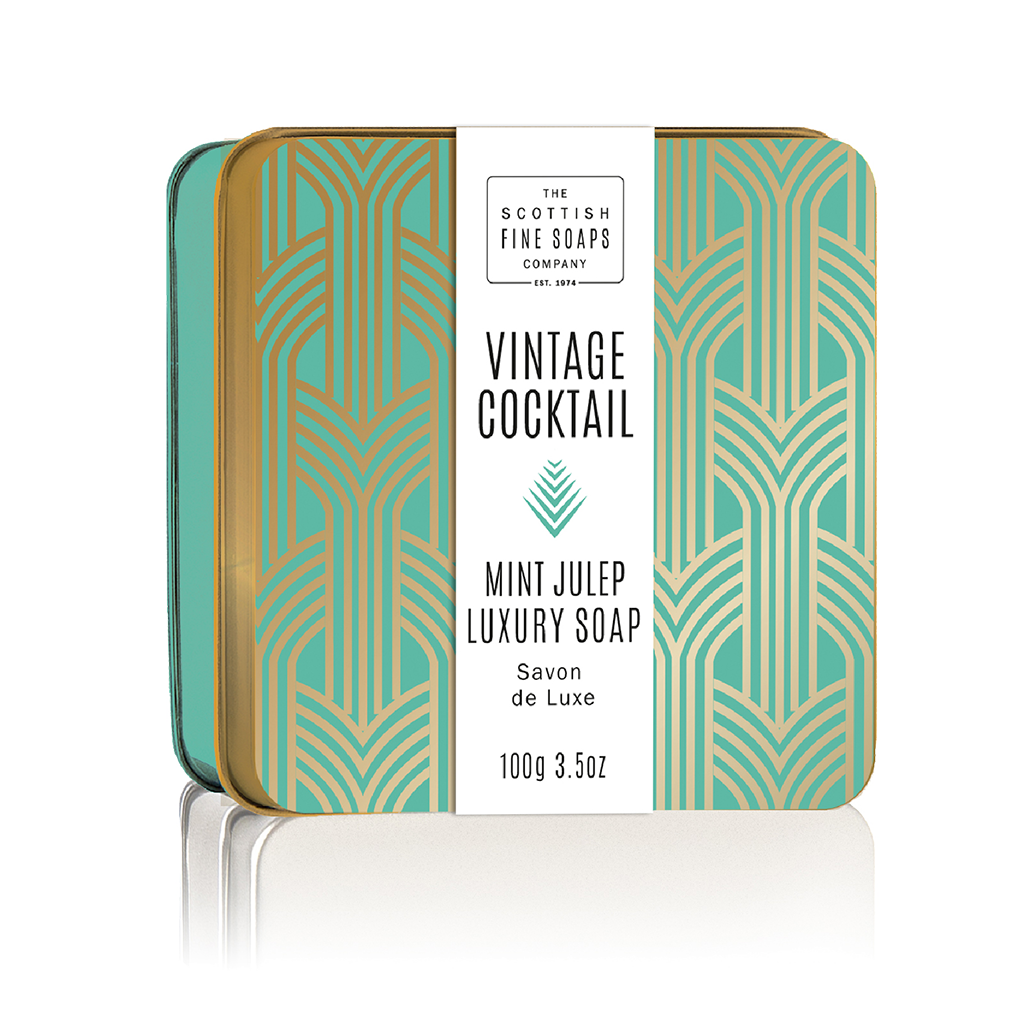 Mint Julep Soap in a Tin
