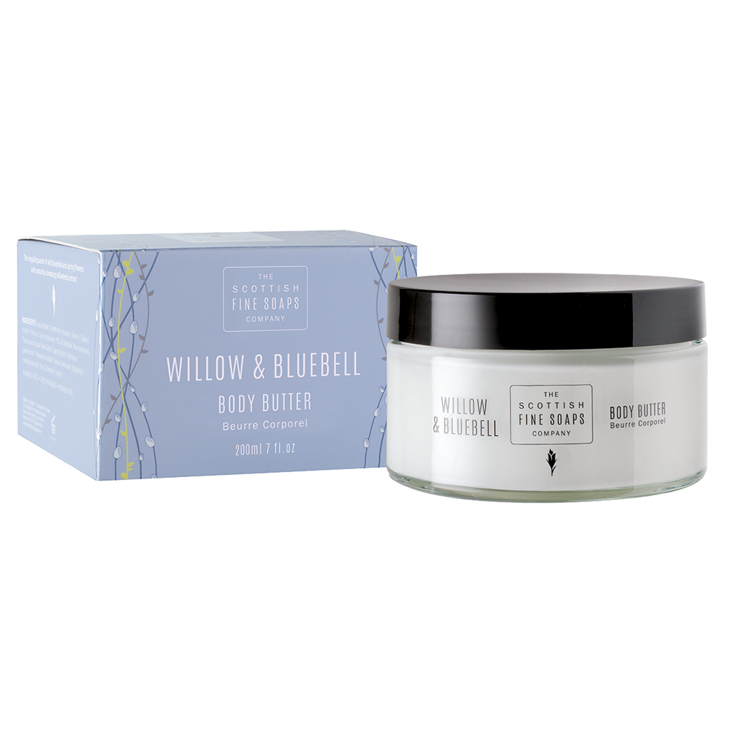 Willow & Bluebell Body Butter Jar