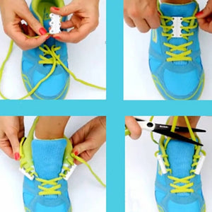 Magnetic Shoe Lace Buckle For Adults and Children