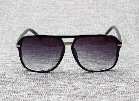 JackJad Square Style Gradient Sunglasses