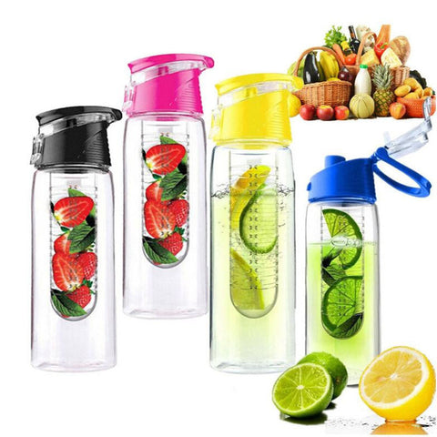Fruit Infuser Water Bottle, 1 Pack - Choose your Color