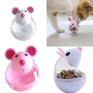 Cat tumbler mouse shape Automatic Feeders