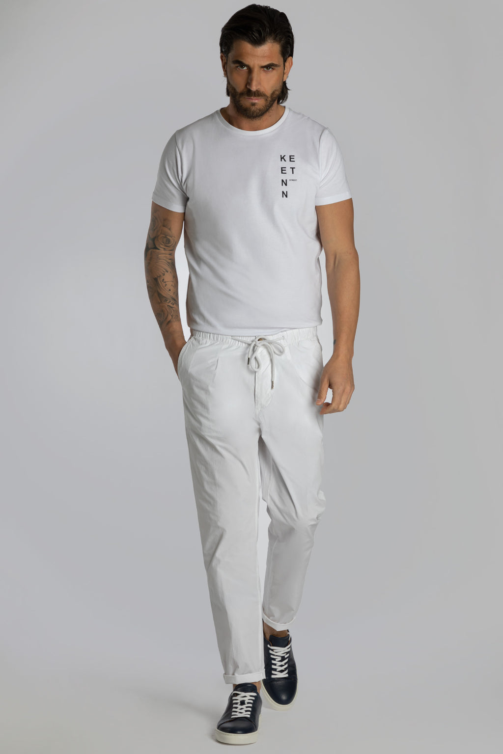 PANTALACCIO IN TELA STRETCH