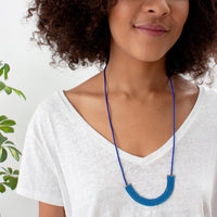 Lapa Necklace in Dusk/Cobalt