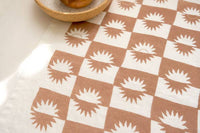 Sunrise Linen Tea Towel