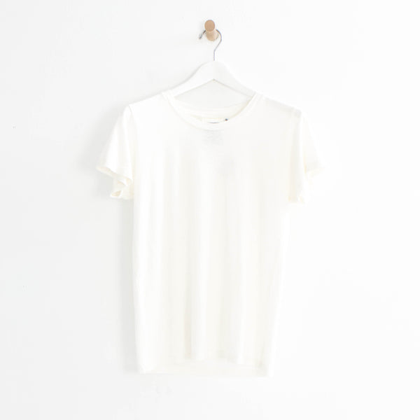 Lorel Tee in White