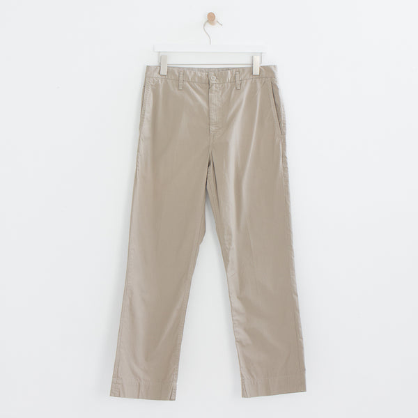 Poplin Summer Chino in Khaki