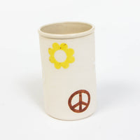 Peace & Flowers Tall Tumbler