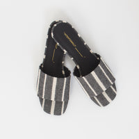 Jessica Sandal in Black Stripe