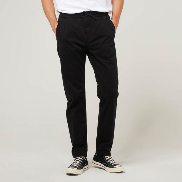 Alston Chinos in Black