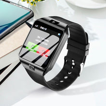 Load image into Gallery viewer, LEMFO Passometer DZ09 Support SIM TF Card Phone DZ09 Smart Watch DZ 09 with Battery Strap
