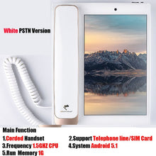 Load image into Gallery viewer, Andrews Smart Network Video Fixed Telephone With Call ID SMS WIFI Recording Address Book Blacklist For Home Office Bussiness