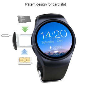 LEMFO LF18 Smart Watch Phone Support SIM TF Card Heart Rate Monitor Clock