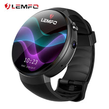 Load image into Gallery viewer, LEMFO Smart Watch LEM7 Android 7.0 4G Smartwatch 1GB + 16GB Support LTE Phone Call Heart Rate Tracker Camera Translator