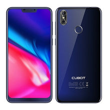 Load image into Gallery viewer, Cubot P20 6.18'' 19:9 Notch Screen 4GB 64GB MT6750T Octa-Core Smartphone Android 8.0 4000mAh 2246*1080 20MP+2.0MP 4G Telephone