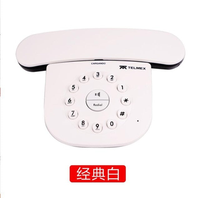DECT 6.0 Plus Digital Cordless Phone Call ID Mute Handfree Wireless Home Telephone For Office Bussiness Black White