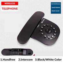 Load image into Gallery viewer, DECT 6.0 Plus Digital Cordless Phone Call ID Mute Handfree Wireless Home Telephone For Office Bussiness Black White