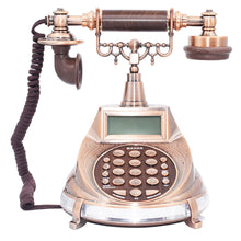 Load image into Gallery viewer, English Arabic Antique Landline Telephone AZAN Time Cord Phone With Call ID Redial Pause Handfree For Home Office Muslim