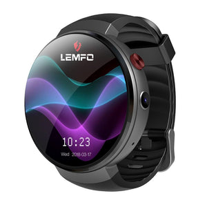 LEMFO Smart Watch LEM7 Android 7.0 4G Smartwatch 1GB + 16GB Support LTE Phone Call Heart Rate Tracker Camera Translator
