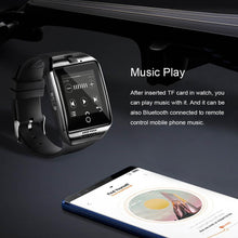Load image into Gallery viewer, LEMFO Q18 Smart-Watch Camera Bluetooth Wristwatch Sim Card Smartwatch Connect Android Watch French Waterproof Wristwatches