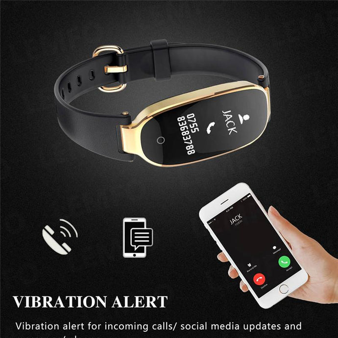 S3 Smart Bracelet Heart Rate Monitor Waterproof Fitness Watch Tracker Pedometer Step Counter