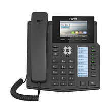 "Load image into Gallery viewer, Fanvil X5S Enterprise IP Phone 3.5"" DSS Screen 6SIP Lines SIP Phone+DSS Extension Module Support Bluetooth with USB Dongle"