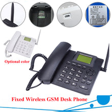Load image into Gallery viewer, GSM Wireless Telephone with sim card slot 850/900/1800/1900MHz White color