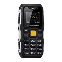 Load image into Gallery viewer, Melrose Mini Military Pocket Bar Telephone Long Standby Big Voice Flashlight FM Single Sim Smallest Size Spare Mobile Phone P105