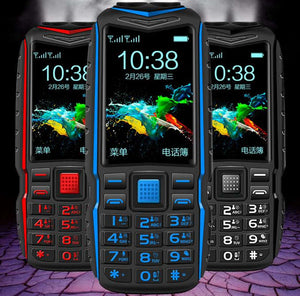 T3 Dual Flashlight FM Long Standby celular Power Bank Rugged Outdoor Telephone Shockproof Dual SIM Big Voice Cell phone