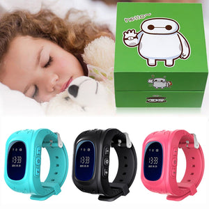 Smart Watch Support GSM 2G SIM Card Children Smartwatch GPS Tracker SOS Call Wristwatch Sport Clock for Kid Boy Girl Kids