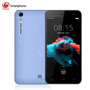 Homtom HT16 5.0 Inch Smartphone Android 6.0 MT6580 Quad Core Mobile Phone 1GB RAM 8GB ROM 3000mAH 3G WCDMA Unlocked Cell Phone