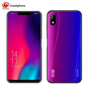 Elephone A4 Pro MT6763 Octa Core Cell Phone HD+Screen 5.85 Inch Android 8.1 Smartphone 4GB RAM 64GB ROM 16MP 4G LTE Mobile Phone