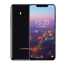 "Load image into Gallery viewer, Umidigi Z2 Pro FHD+Full Screen 6GB RAM 128 ROM Mobile phone Helio P60 Octa Core 6.2"" Android 8.1 Four Camera 4G LTE Cell phone"