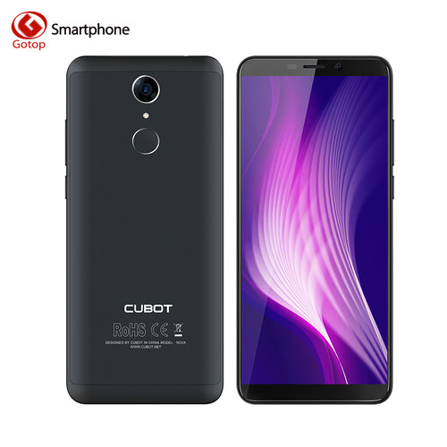 Cubot NOVA MT6739 Quad Core 18:9 Screen Smartphone Android 8.1 5.5 Inch Mobile Phone 3G RAM 16G ROM 2800mAh 13MP 4G Cell Phone