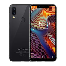 "Load image into Gallery viewer, UMIDIGI A3 Pro Global Band 5.7""19:9 FullScreen smartphone 3GB+32GB Quad core Android 8.1 12MP+5MP Face Unlock Dual 4G Cell phone"