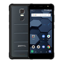 "Load image into Gallery viewer, POPTEL P10 4GB 64GB IP68 Waterproof Mobile Phone 5.5"" Inch MT6763 Octa Core 13MP Fingerprint Touch ID OTG NFC 4G LTE Global"