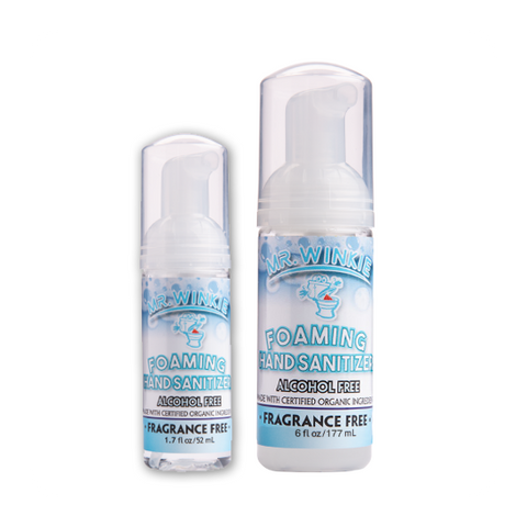 Organic Fragrance Free Foaming Hand Sanitizer