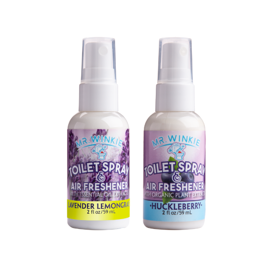 2-Pack Scented Toilet Sprays