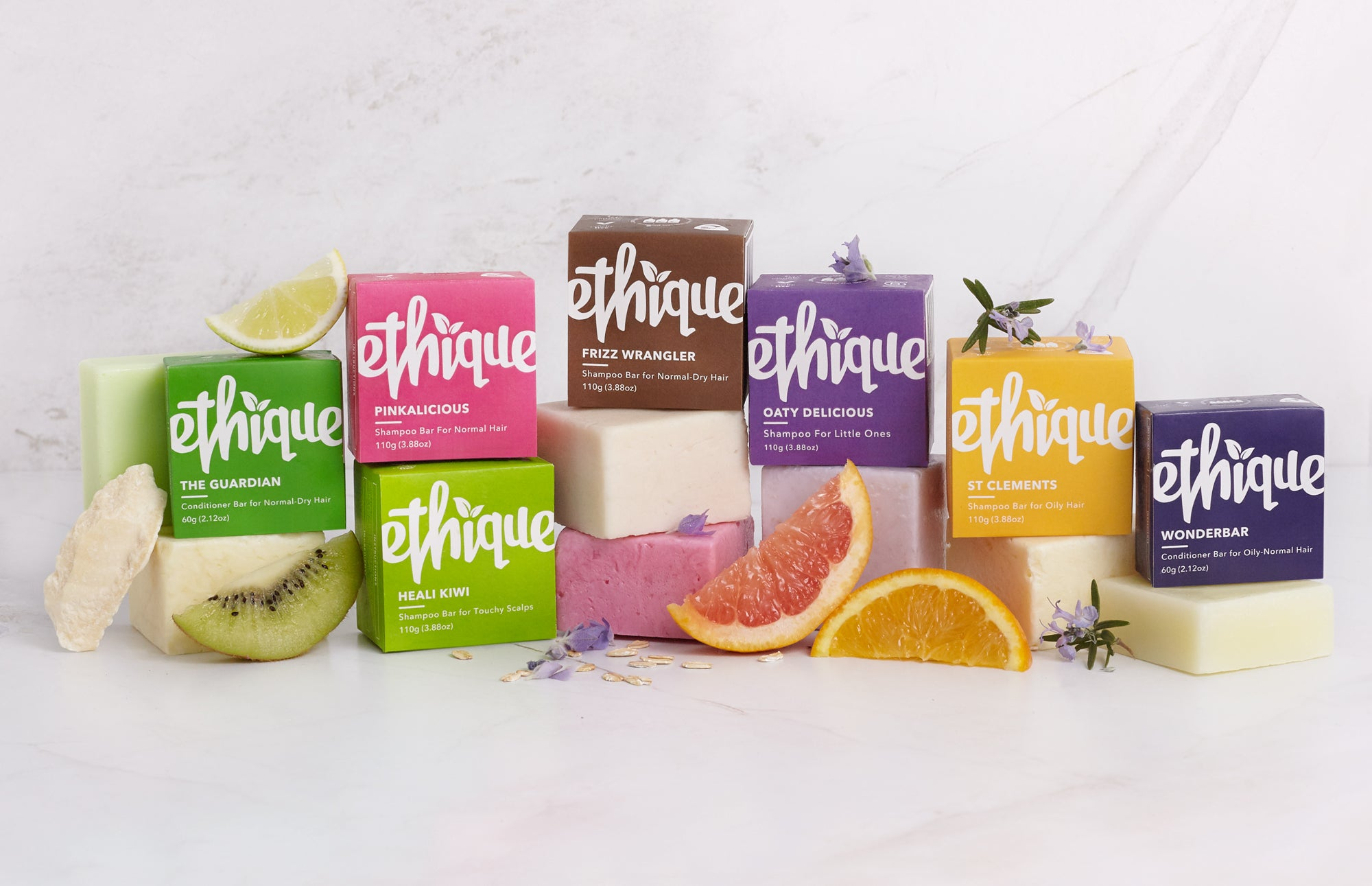 ethique conscious concentrated solid beauty bars