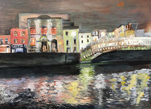 Painting of the Liffey River
