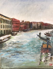 Grand Canal View, oil on canvas SOLD