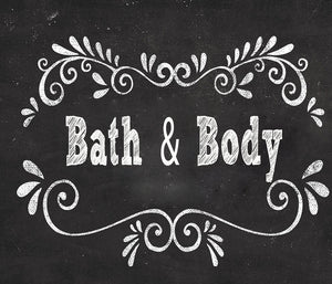 Bath & Body with plant based ingredients and blend of essential oil