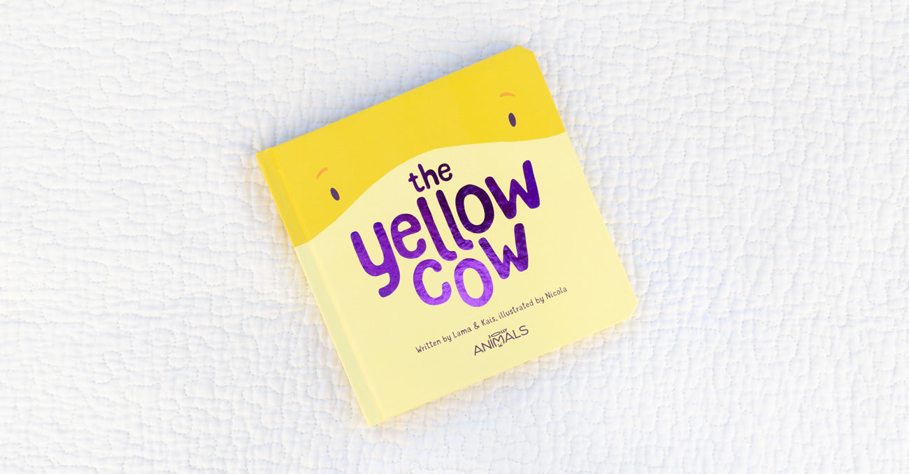 the yellow cow cover
