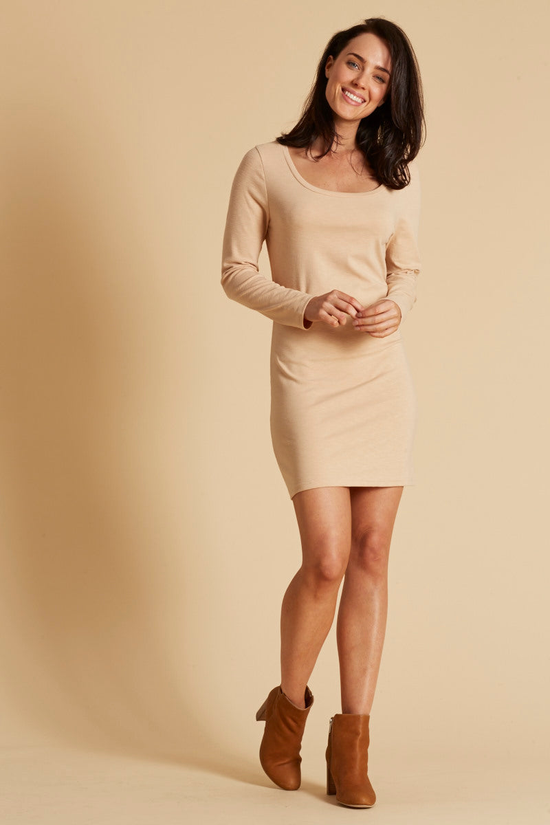 Moritz Dress - Almond - eb&ive Clothing