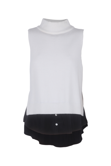 Verbier Vest - Bisque/Black - eb&ive Clothing