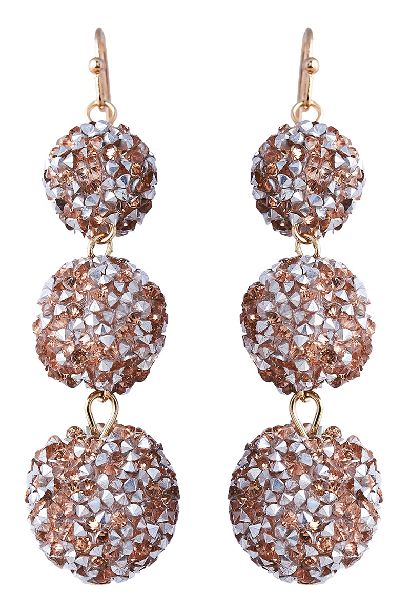 Chandon Disco Earring - Camel - eb&ive Earring